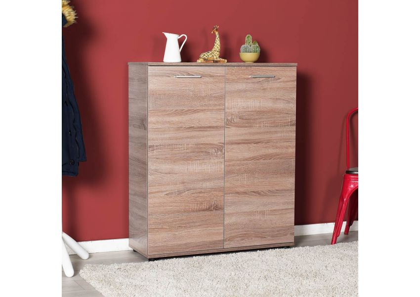 Adore Shoe Cabinet With Five Shelves & Two Doors