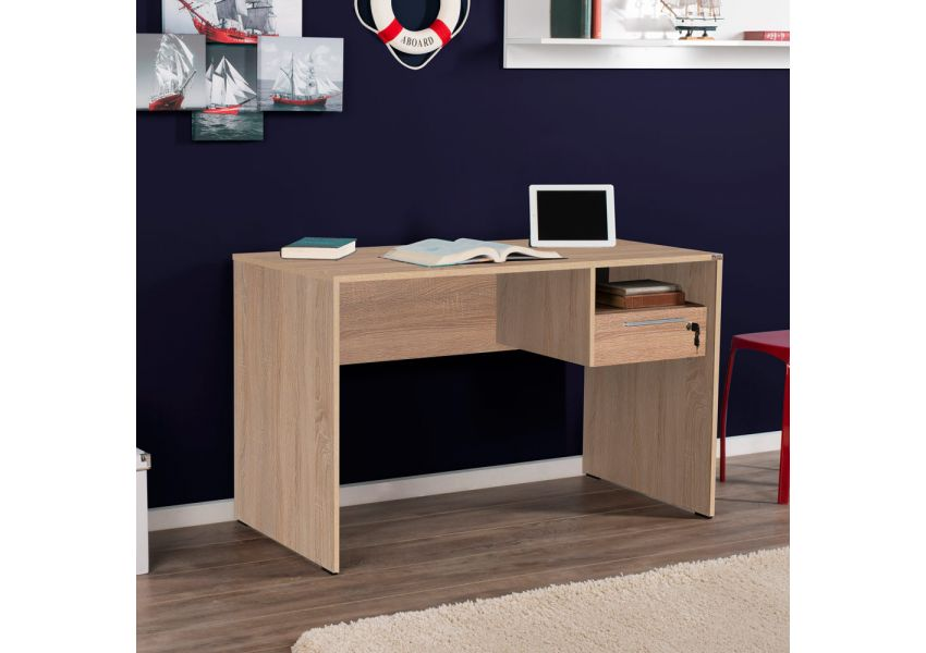 Adore Study & PC Desk with One Drawer & Lock