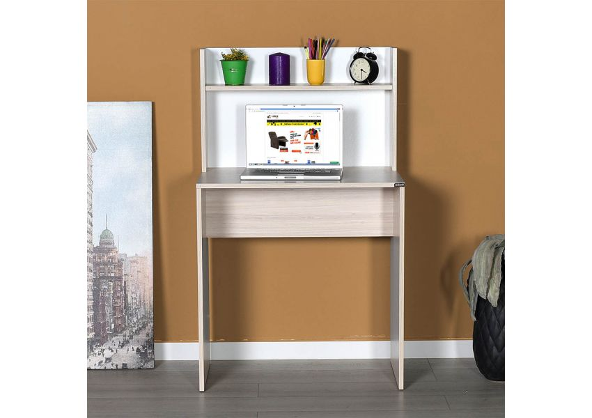 Dynamic Young Room Study Desk with Shelves