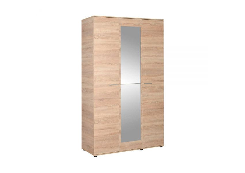 Adore 3 Doors Wardrobe WIth Mirror