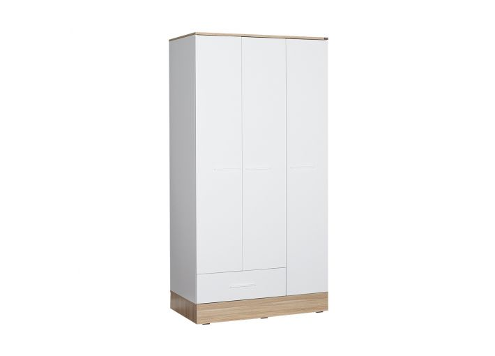 Adore Wardrobe with 3 Doors and One Drawer