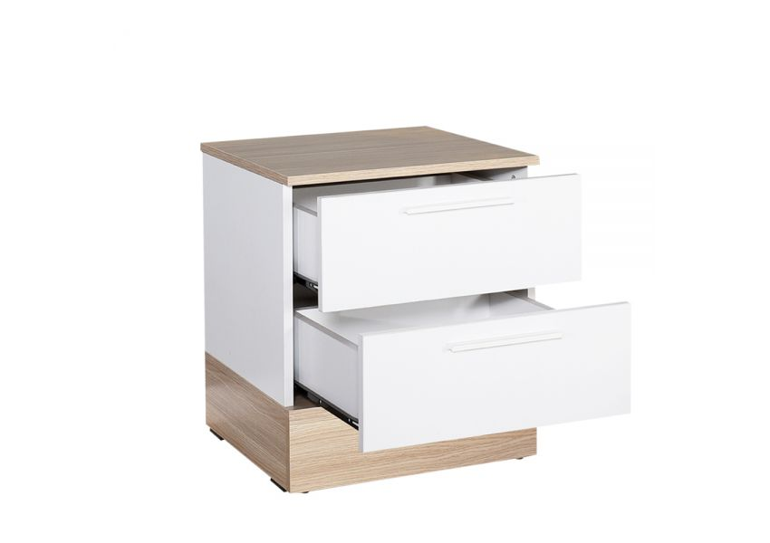 Bedside Table with 2 large drawers