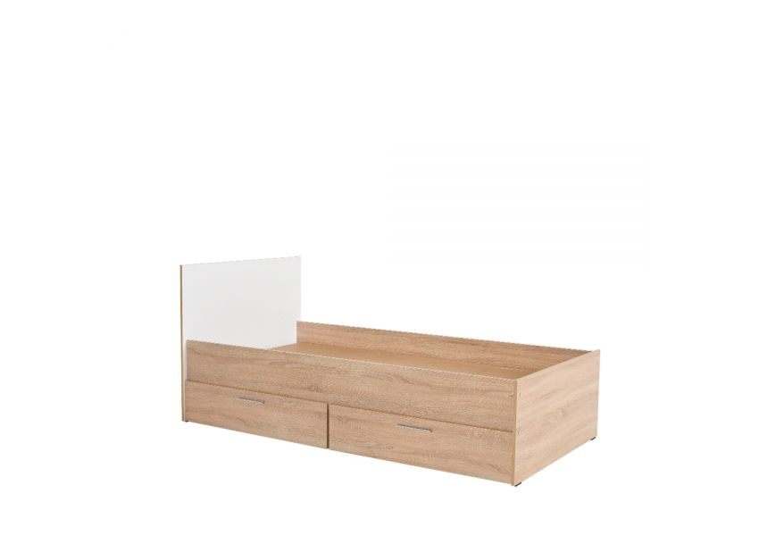Kids Bed With 2 Drawers