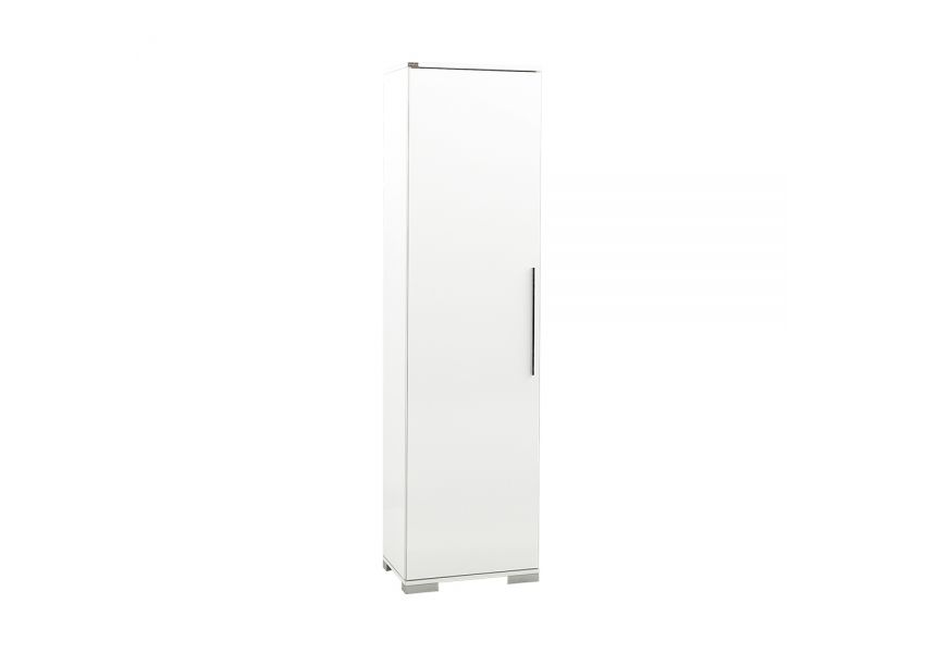 Adore Diamond Multipurpose Cabinet with One Door & Eight Adjustable Shelves