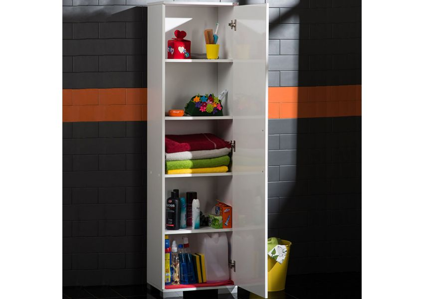 Multipurpose Cabinet with Four Shelves & One Door