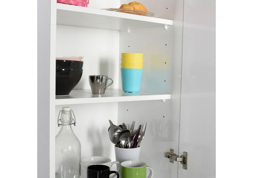 Adore Laundry cabinet with 1 drawer and 4 shelves