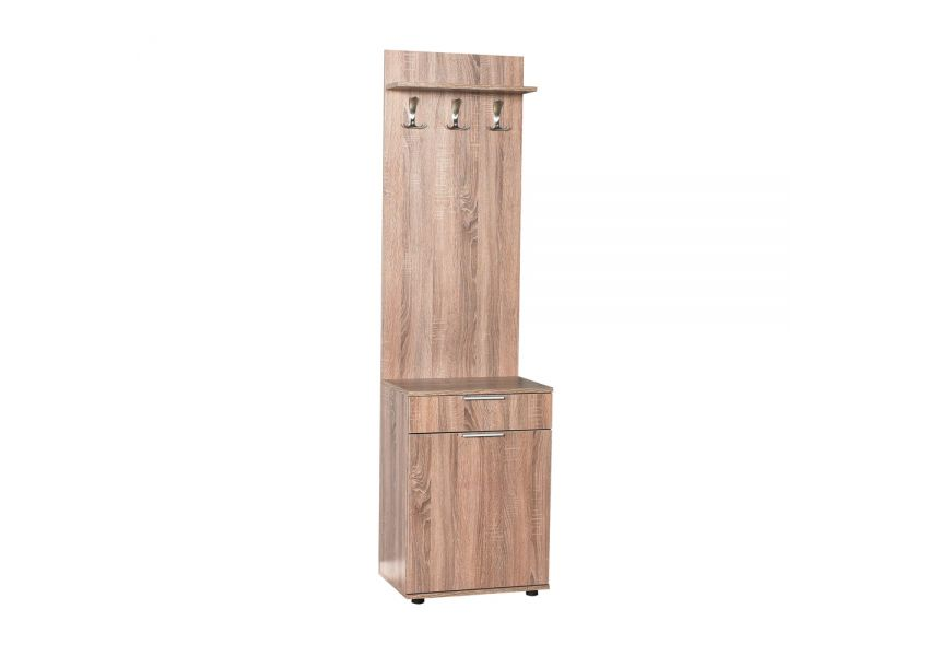 Adore Hallstand & Shoe Cabinet with One Drawer & One Door