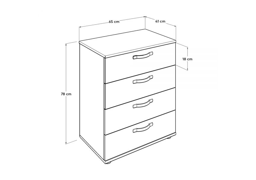 Dynamic Chest of Drawers
