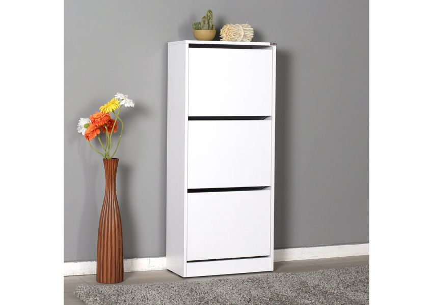 Adore Shoe Cabinet with Three Sections