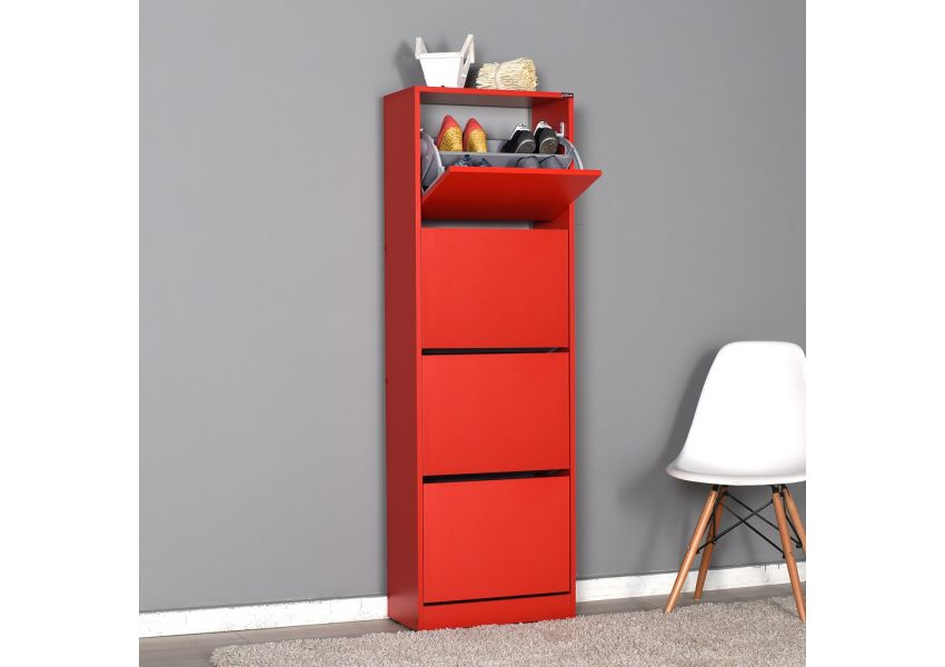 Adore Shoe Cabinet with Four Sections