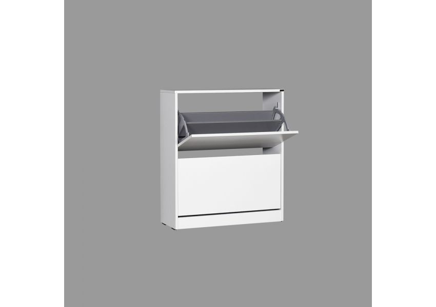 Flat Duo 2-Storey Wide Shoe Cabinet