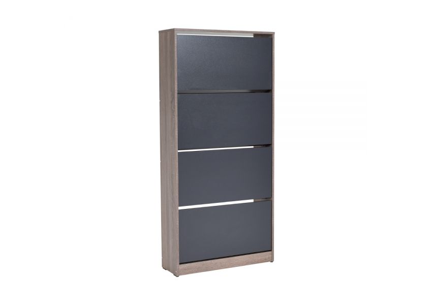 Adore Wide Shoe Cabinet with 4 sections