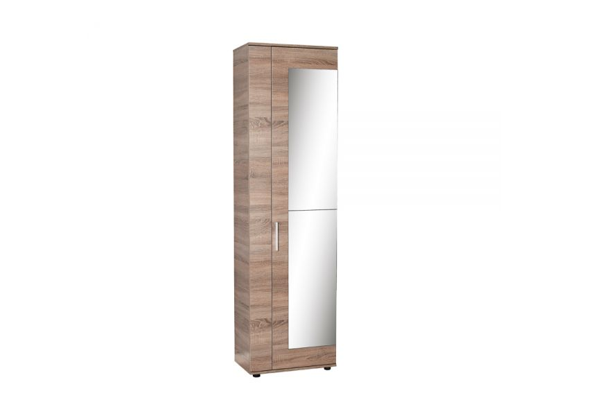 Adore Shoe Cabinet with Ten Sections & Two Doors and Mirror