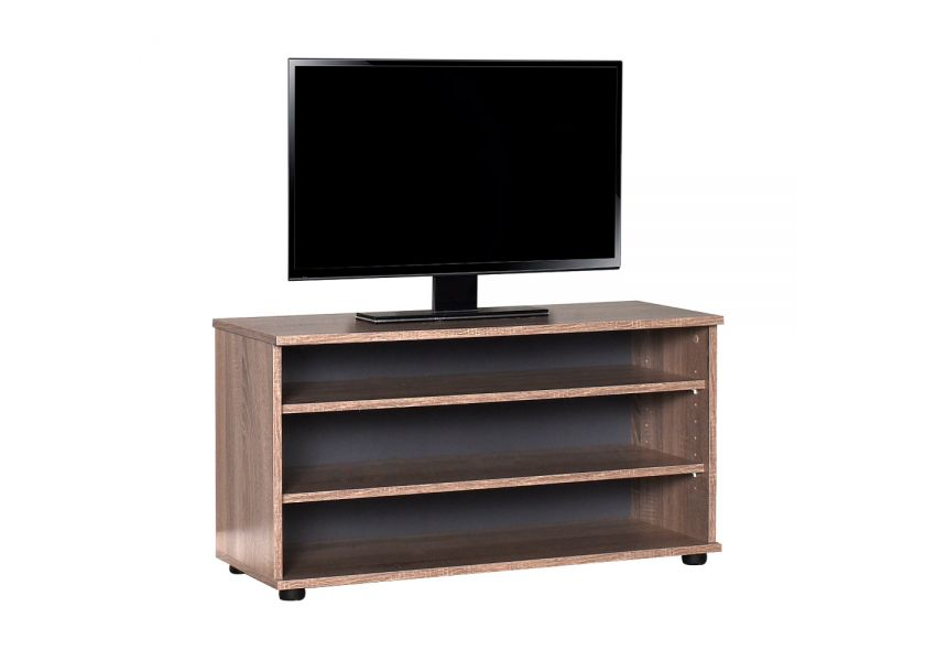 adore tv stand  with three sections