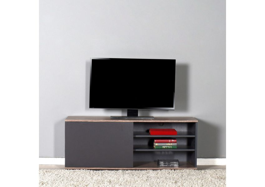 Adore  Flat Line Plus Covered Three Section Tv Table