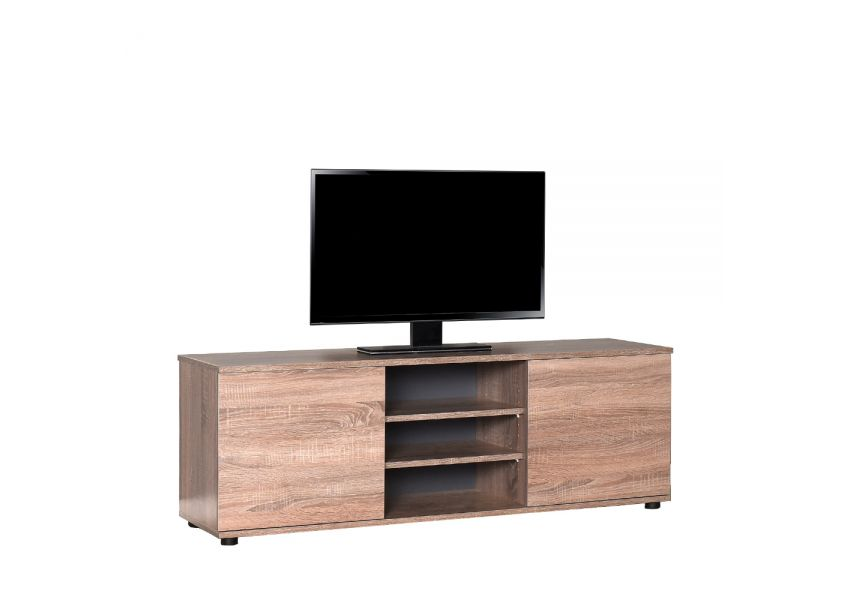 Adore Tv Standwith Two Doors & 3 Sections