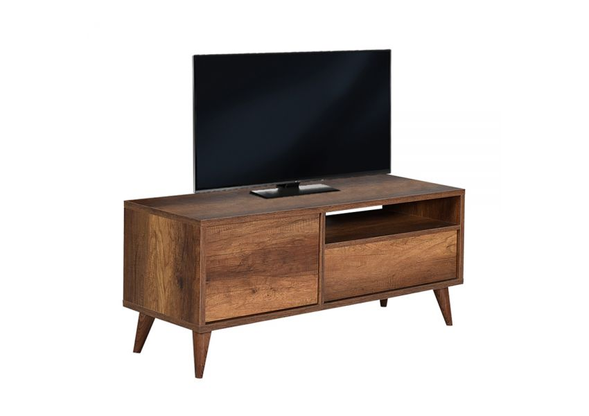 Adore Retro Tv Stand with One Drawer & One Section
