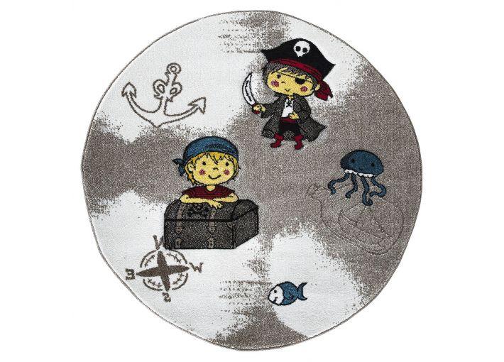 Momo Pirates Rund Rug