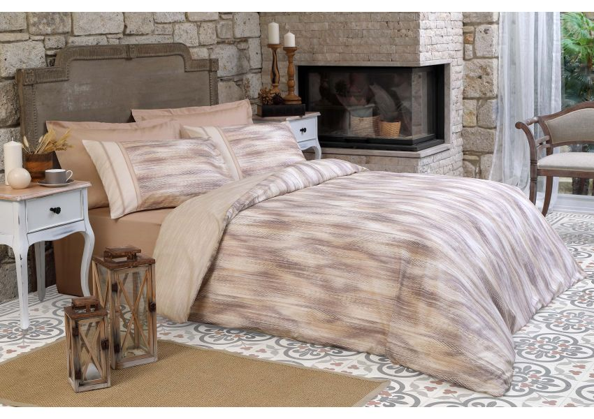 albero double bed set - satin