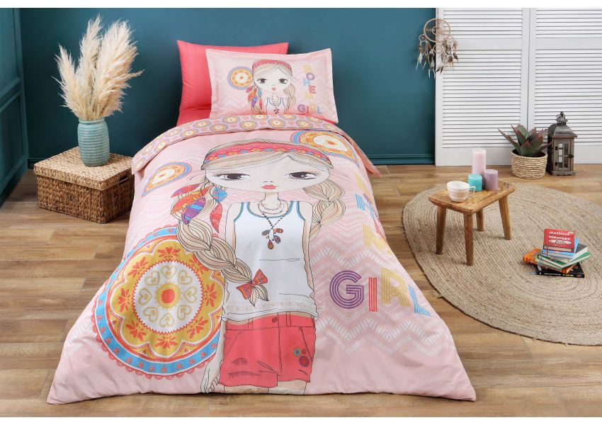 bohem girl single bed set