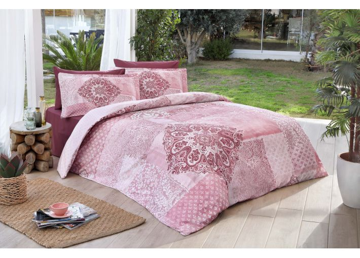 Damasco Double Bed Set - Satin