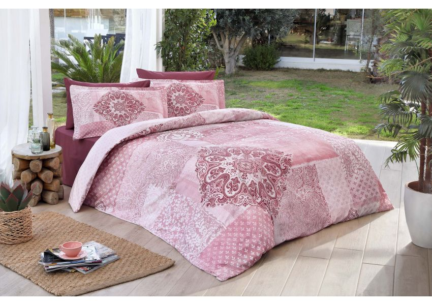 damasco double bed set - satin