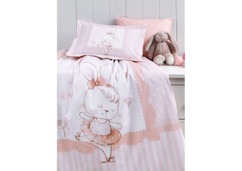 dancer bunny bed set baby size