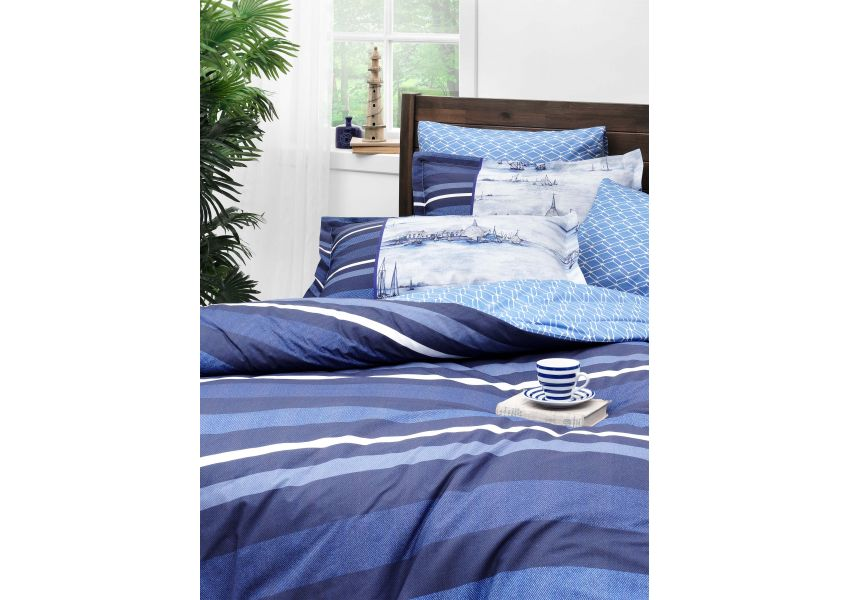 ink lines single bed set