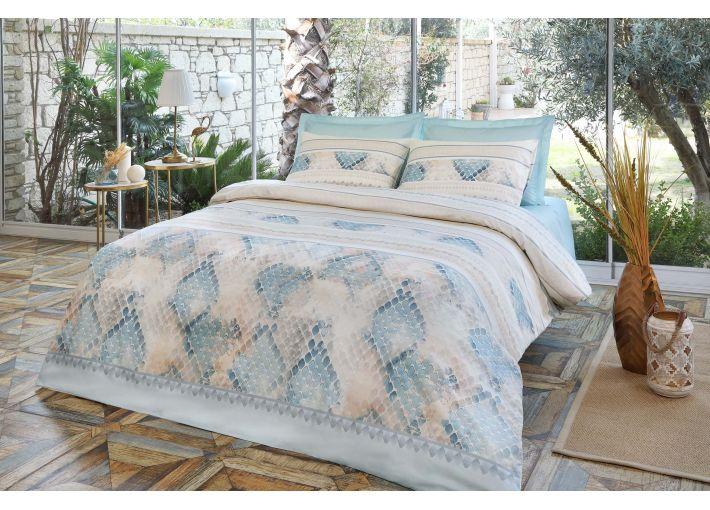 Piel Double Bed Set - Satin
