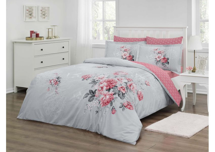 rose quartz bed set