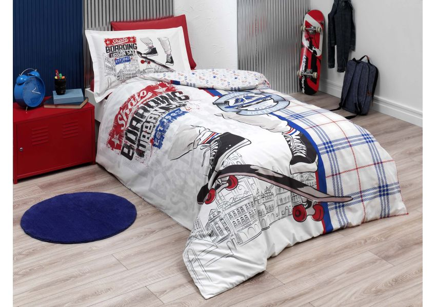 skate single bed set