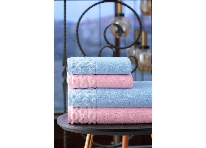 Aqua Towel & Bathrobe Set