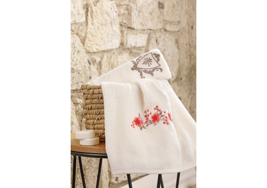 Cheerfull Towel and Bathrobe Set 6 pcs