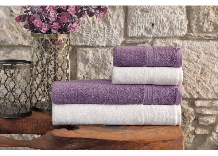 Destan Towel & Bathrobe Set