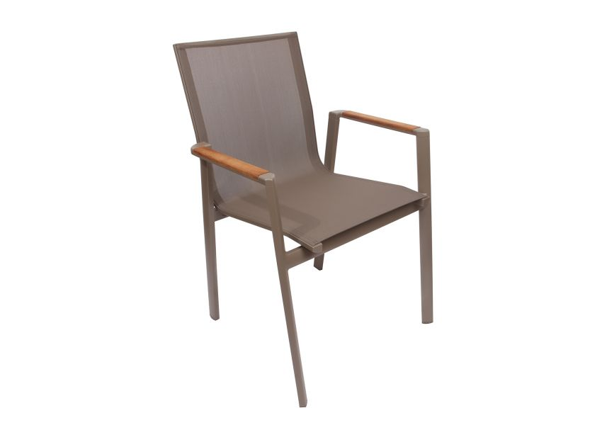 Rossi Garden Chair Set of 2 Aluminium Frame
