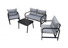 Palermo Garden Sofa Set Steel Frame