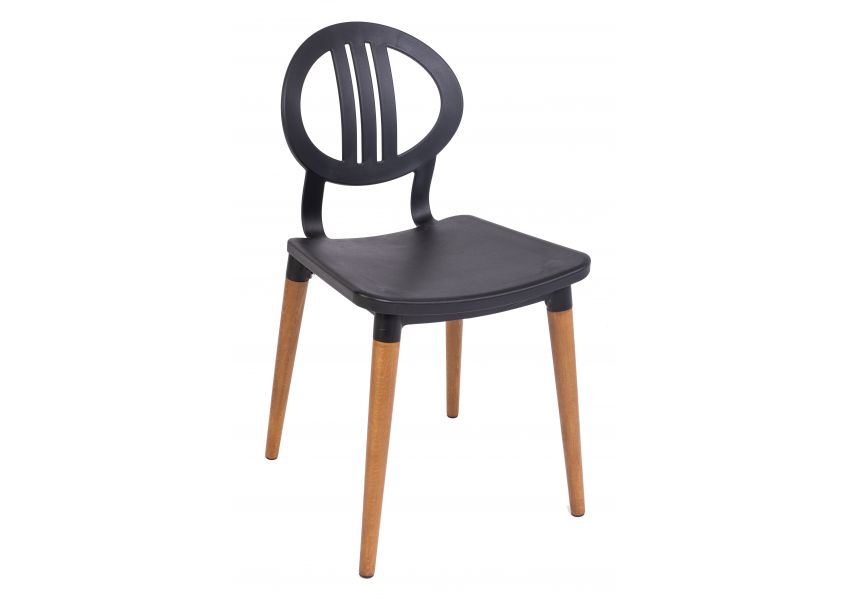 tulip chair set of 2 wooden legs