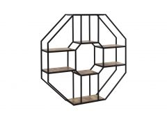 Lavoro Wall-Mounted Shelf (Octagonal)