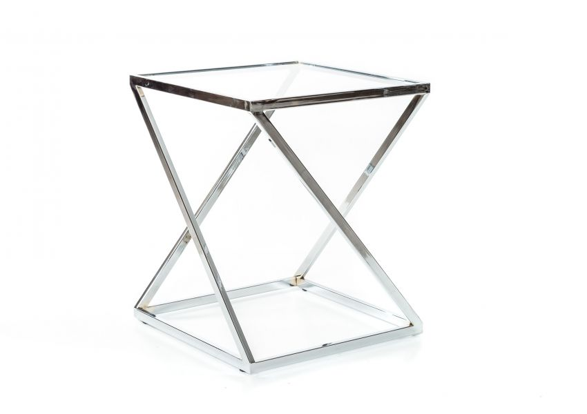 Lioni Side Table Chrome