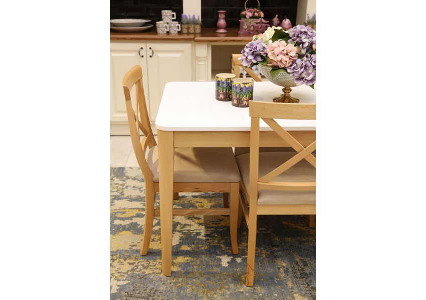 Liss Dining Table (White)