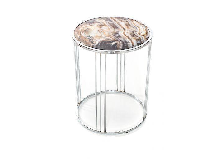 Marotta Chrome Side Table