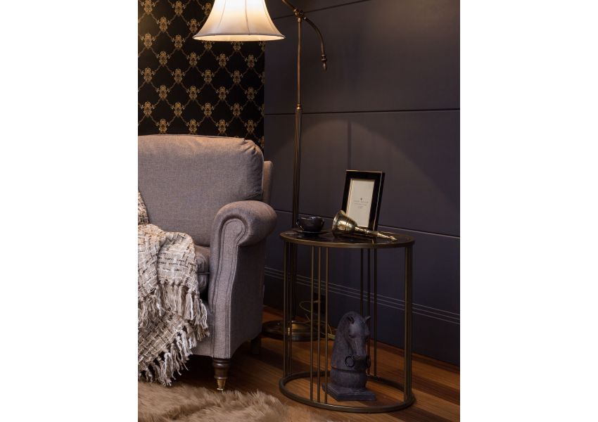 Marotta Gold Side Table