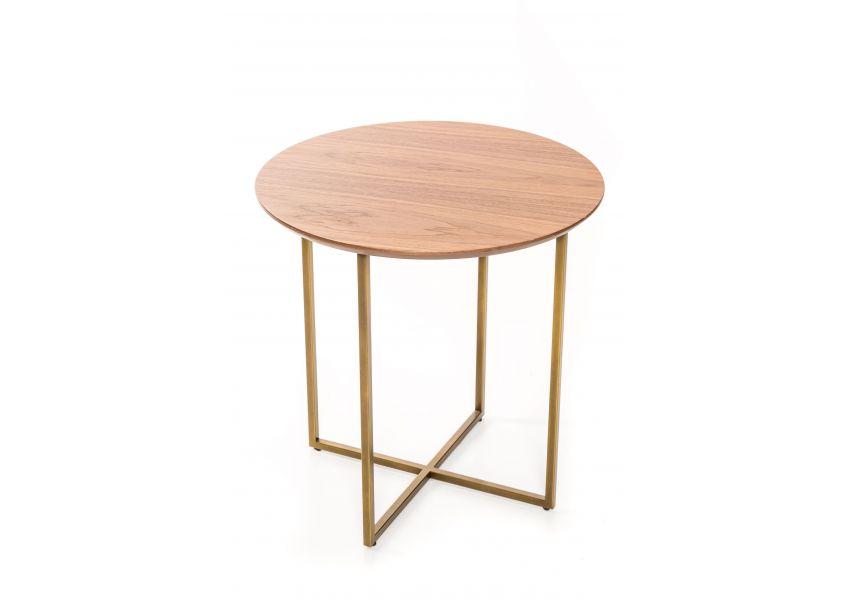 Trento High Side Table (Bronze Legs)