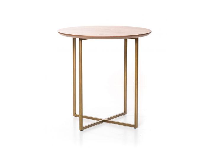Trento Short Side Table (Bronze Legs)