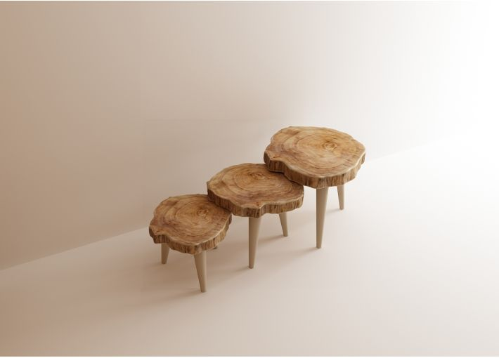 Timber Nesting Tables