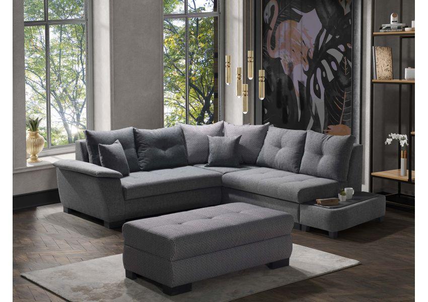 New Riva Corner Sofa 3L/2R, 2L/2R, 3R/2L with Side table