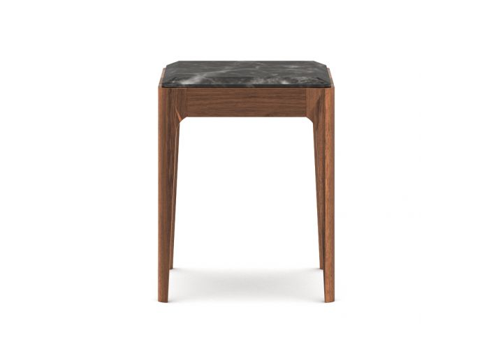 Marble Square Side Table